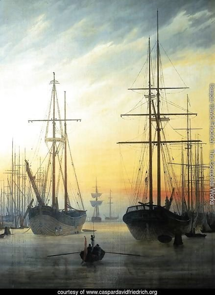 View of a Harbour 1815-16