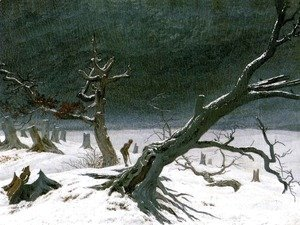 Caspar David Friedrich - Winter Landscape (3) 1811