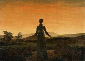 Woman before the Rising Sun (Woman before the Setting Sun) 1818-20