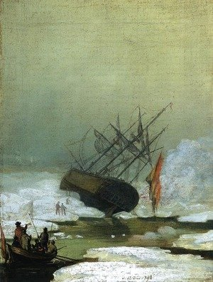 Wreck in the Sea of Ice 1798