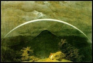 Caspar David Friedrich - Rainbow