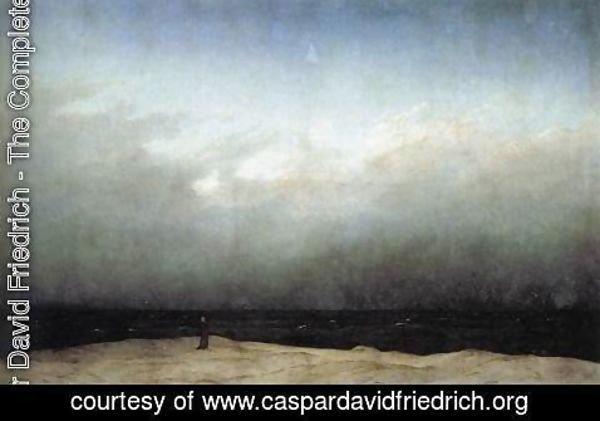 Caspar David Friedrich - Monk by the Sea 1809