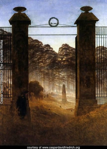 The Cemetery Entrance 1825