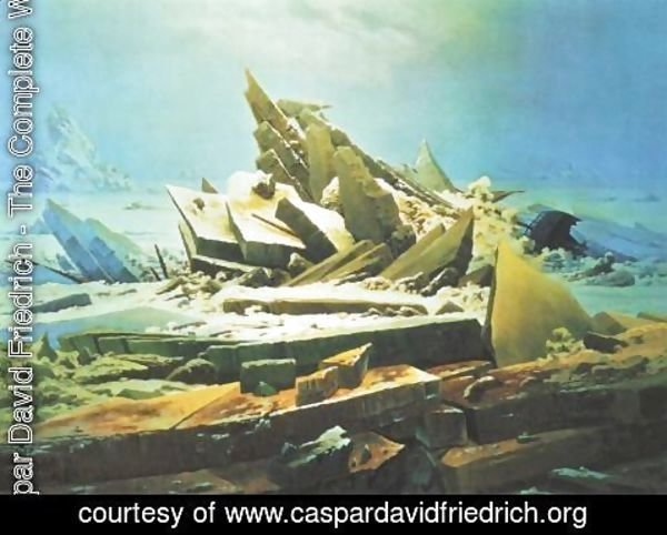 Caspar David Friedrich - Wreck of the Hope